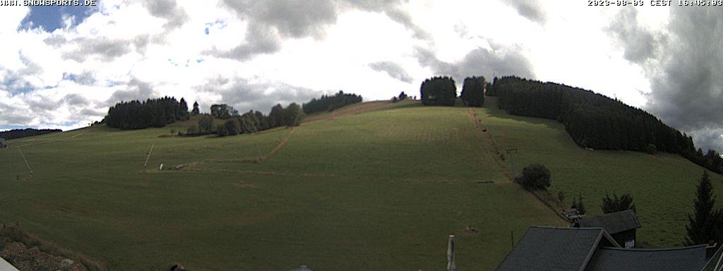 Webcam Skigebiet Holzhau Erzgebirge